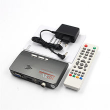 Digital TV Receiver Remote Contro 1080P HD HDMI DVB-T2 TV Box Tuner Receiver Converter l With VGA Port For TV