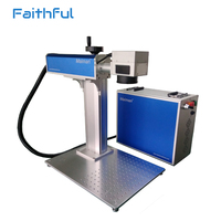 50w 30w 20w Portable Mini Fiber Laser Marking Machine Price Competitive For Metal Engraving From Manufacturers