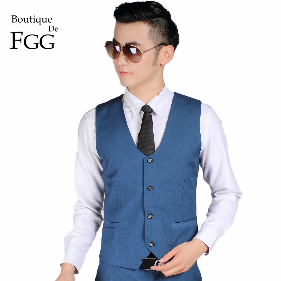 Boutique De FGG China SizeS 3XL Royal Blue Color Men Formal Suit ...