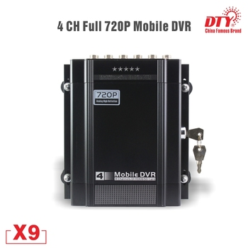 1 channel car dvr kit including dvr and ir car camera 5 meters video cable suit for taxi and bus used 4 channel 720P AHD GPS DVR Car Taxi Vehicle HDD DVR Video Recorder mobile dvr , X9s-4G