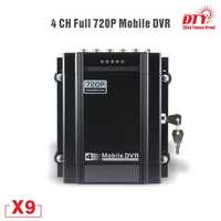 4 kanal 720P AHD GPS DVR Auto Taxi Fahrzeug HDD DVR Video Recorder mobile dvr, X9s-4G