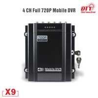 4 kanal 720P AHD GPS DVR Auto Taxi Fahrzeug HDD DVR Video Recorder mobile dvr, X9s-4G