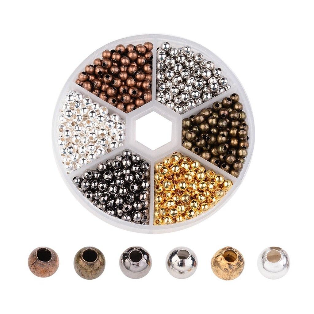 Aliexpress.com : Buy 948Pcs Tiny Metal Smooth Round Spacer