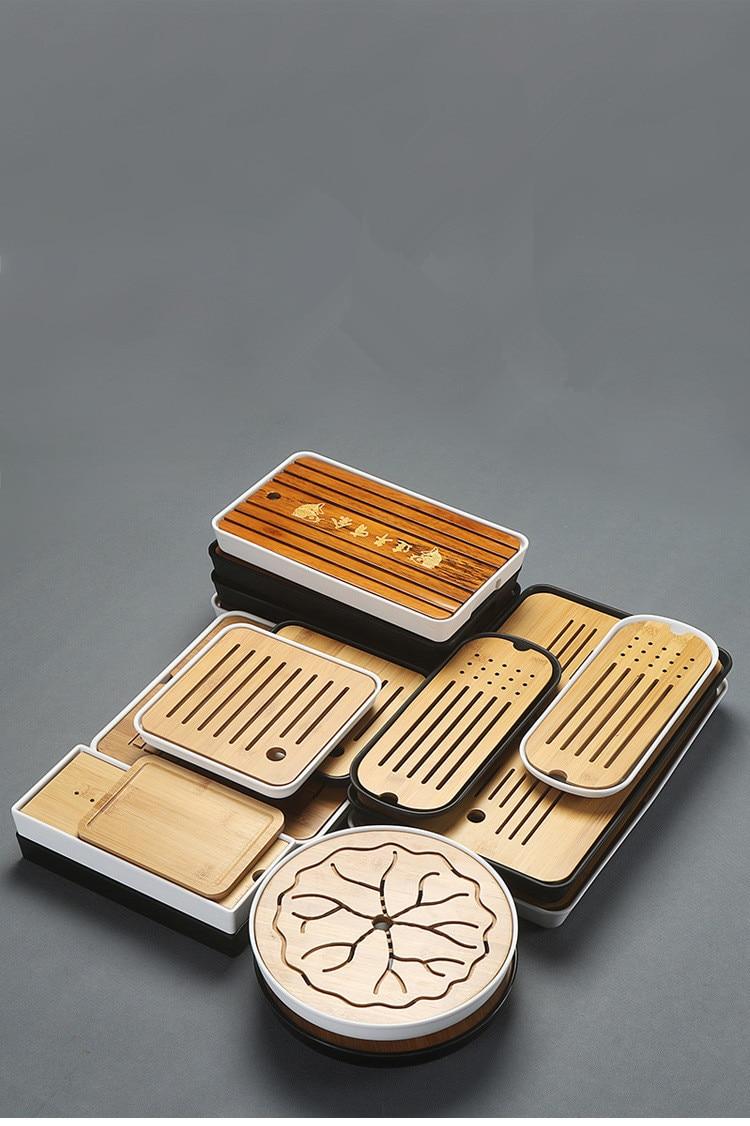 Bamboo Gong Fu Tea Trays 1