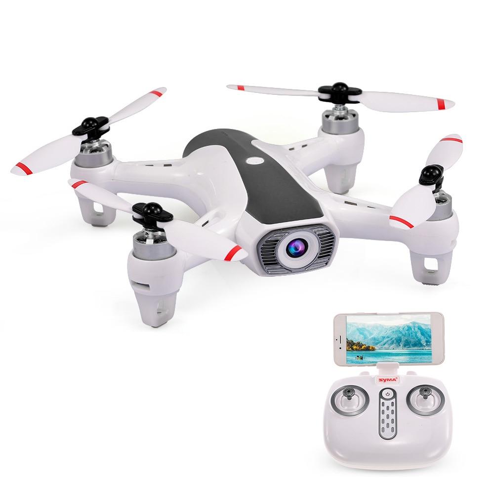 Syma W1 RC Drone 2,4G 4CH WIFI FPV Motor sin escobillas de flujo óptico Dron con cámara HD 1080 cuadricóptero gran angular P-in Helicópteros RC from Juguetes y pasatiempos    2