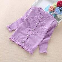 206 nieuwe kinderen truien 3 16 jaar meisjes truien katoen kinderen vesten 8602