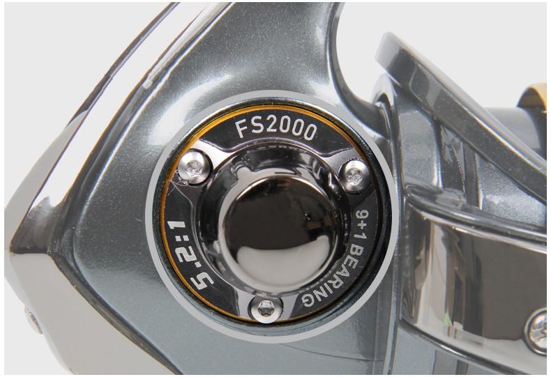carretes FS2000 para carrete 8