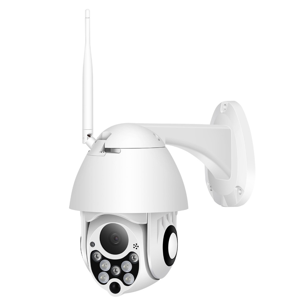 BESDER 4X Digital Zoom 1080P Wifi PTZ Speed Dome Camera Outdoor IP66 Waterproof Wireless Home Security