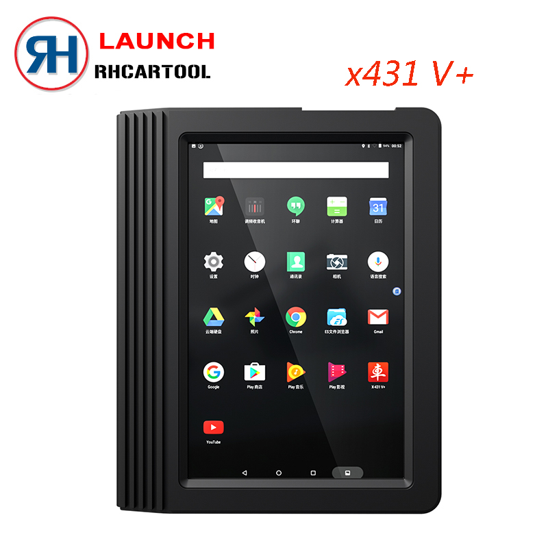 Original Launch X431 V+ & X431 HD heavy duty 10.1″ Screen Tablet Bluetooth/wifi auto diagnostic scanner test for 12V/24V truck