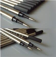 High Quality 100pcs/lot Tactical Pens Refills For Laix,Parker, tactical pen, Metal Ballpoint Refill ,Gel pen core,
