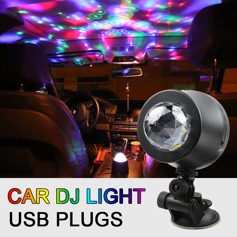 DJ RGB LED Light Strobe 5v Auto Car Disco Lighting Stage Party Bar Music Active