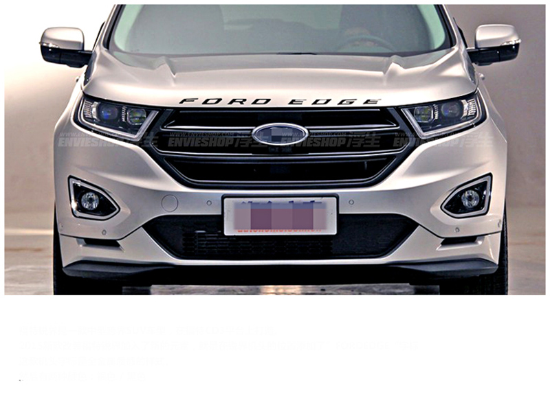 D Fordedge Letters Sticker Hood Emblem Silver Chrome Black Logo Sticker For   Ford New Edge Explorer On Aliexpress Com Alibaba Group
