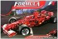 1242 unids F1 Formula Racing autoblocante ladrillos bloques de construcción de Juguete 1:8 modelo de coche Compatible lepin 3335