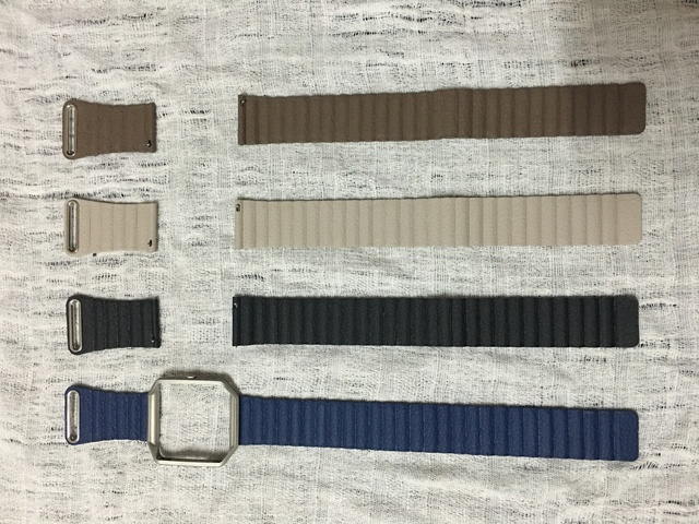 Fitbit Пламя Пламя Ремень Из Натуральной Кожи Цепи Группа Для Fitbit Tracker Смарт Фитнес Смотреть Band С Магнитом Блокировки Ремень