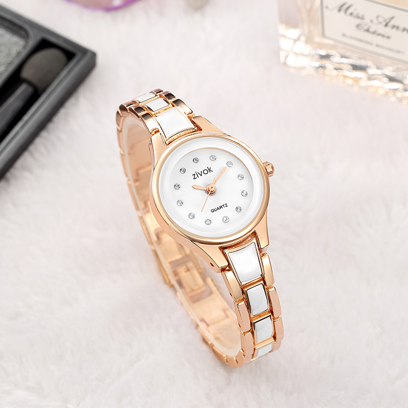Zivok Fashion Women Watch Relogio Feminino Top Brand Luxury Lovers Quartz Wrist Watch Clock Girl Watch Bayan Kol Saati ZA1043 zivok fashion brand women watches luxury red lovers bracelet wrist watch clock women relogio feminino ladies quartz wristwatch