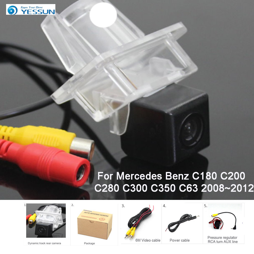 YESSUN For Mercedes Benz C180 C200 C280 C300 C350 C63 2008~2012 Car Rear View Back Up Reverse Parking HD Camera Night vision CCD image