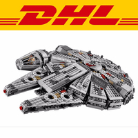 1381pcs Millennium Falcon Star Wars Model Building Blocks Toys For Force Awaken Legoing Starwars Chewbacca 10467