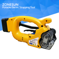 Portable Electric Baler Plastic Steel Belt Automatic Strapping Hot Melt Packing Tensioner Outdoor Work Packer