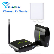 New 2.4G Smart Digital STB Wireless Sharing Device Av Transmitter & Receiver System 5OOM Support DVD DVR IPTV CCTV Camera