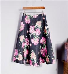 2016-Vintage-Pring-High-Waist-Flower-Women-Skirts-Black-Green-Black-A-Line-Ladies-Skirts-Summer.jpg_640x640