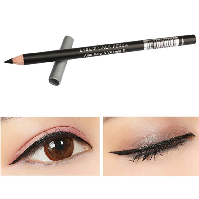 Waterproof Black  Eyebrow Pen Lasting Charming Cosmetics Eyeliner Pencil Women Eyes Makeup Eyeliner Pen 3