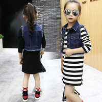 Girl S Dress 2017 Spring Autumn New Europe And America Style Girls Clothes Fashion 3 9