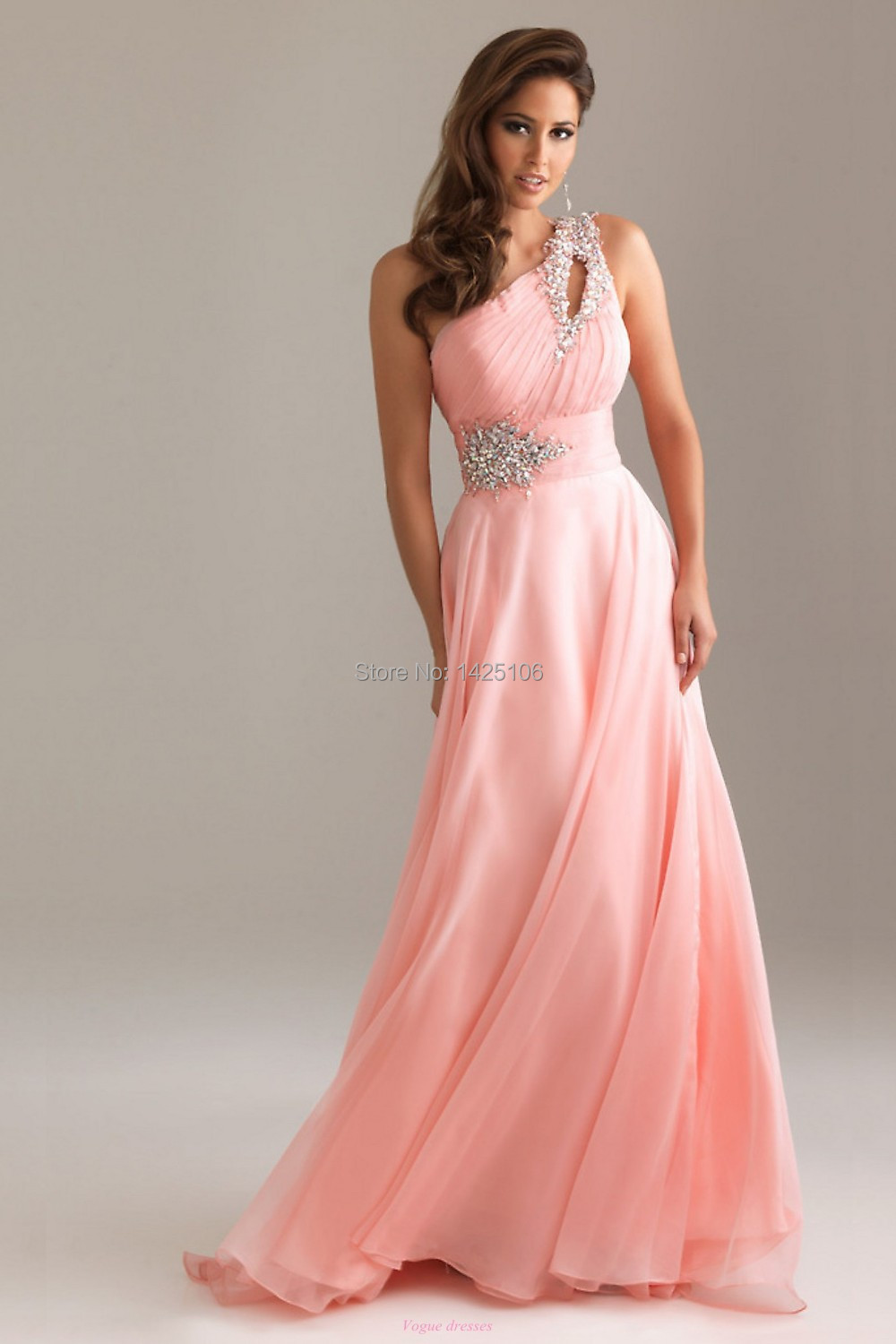 Compare prices on one shoulder bridesmaid dresses with sequin pink 2016 new senior handmade beadingsequins pinklavender one shoulder formal bridesmaid dress for women party ombrellifo Images