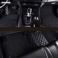 Custom fit car floor mats for Cadillac ATS CTS XTS SRX SLS Escalade 5D all weather carpet floor liner