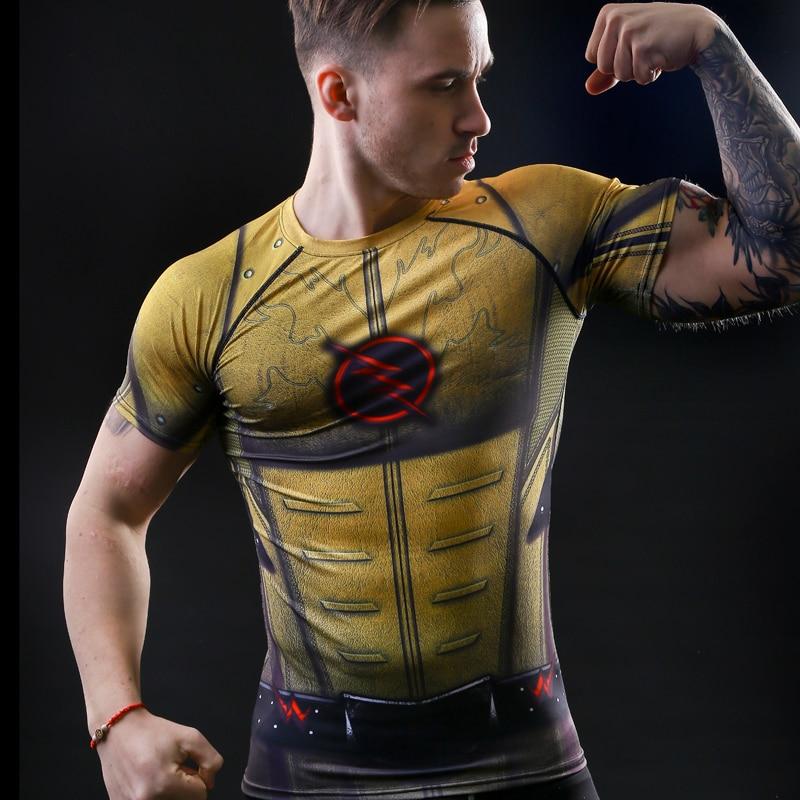 T-shirt Kapten Amerika inbördeskrig utslagsplats 3D-tryckta T-shirts - Herrkläder - Foto 2