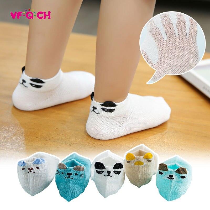 5Pair/Lot Kids Socks Boy Girls Short Sox Cartoon Cute Design Muti Types Cool Little Feet Children Sock