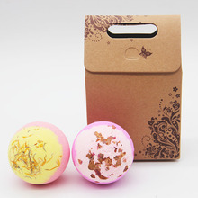 Tsing 120g Bath Bomb rose camomile bubble spa Handmade natural Essential Oil GiftSet bath Bombs Ball Natural bomb