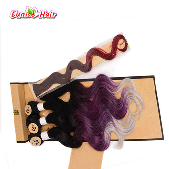 salon hair weaving thread 1roll lot high strength polyester thread for brazilian hair extension professional hair extension tool One Pack Body Wave Hair Piece Synthetic Brazilian Natural Wave Hair Extension Cheap Hair Style 1 Bundles Closure Rainbow Weaving