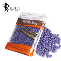 Beautome 2016 New Arrival Depilatory Hot Film Hard Wax Beans Pellet Waxing Bikini Hair Removal Wax  for Beauty Lavender 310g