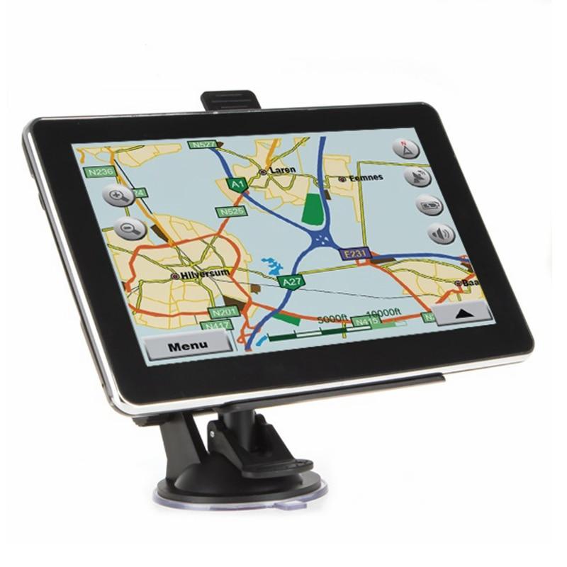 7 inch Touch Screen Car GPS Navigation 800M CPU Sat Navigator Support FM Transmitter Bluetooth AV