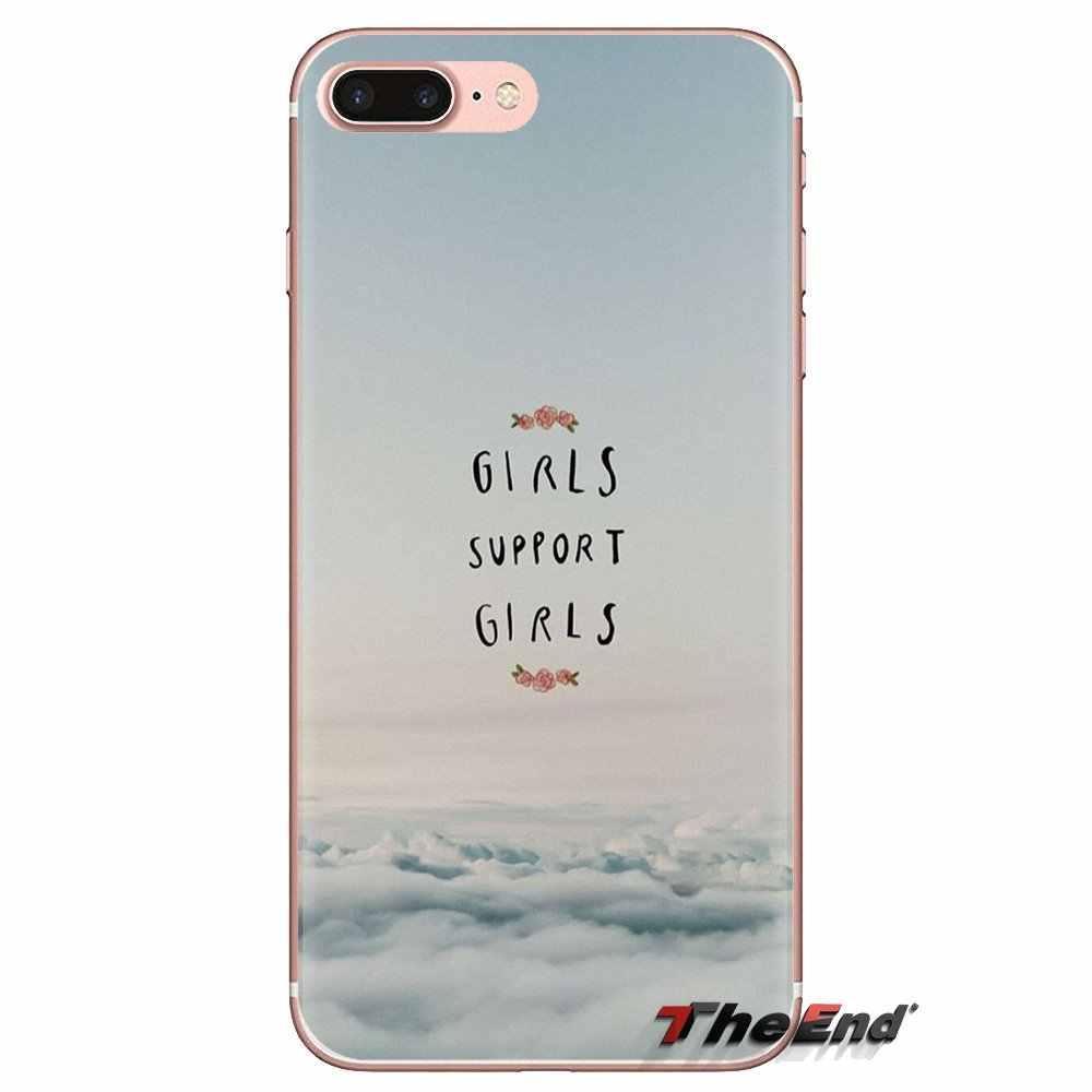 Điện thoại Dành Cho LG Tinh Thần Motorola Moto X4 E4 E5 G5 G5S G6 Z Z2 Z3 G2 G3 C Chơi plus Mini Thẩm Mỹ Tối Thiểu Cô Gái điện Nữ Quyền