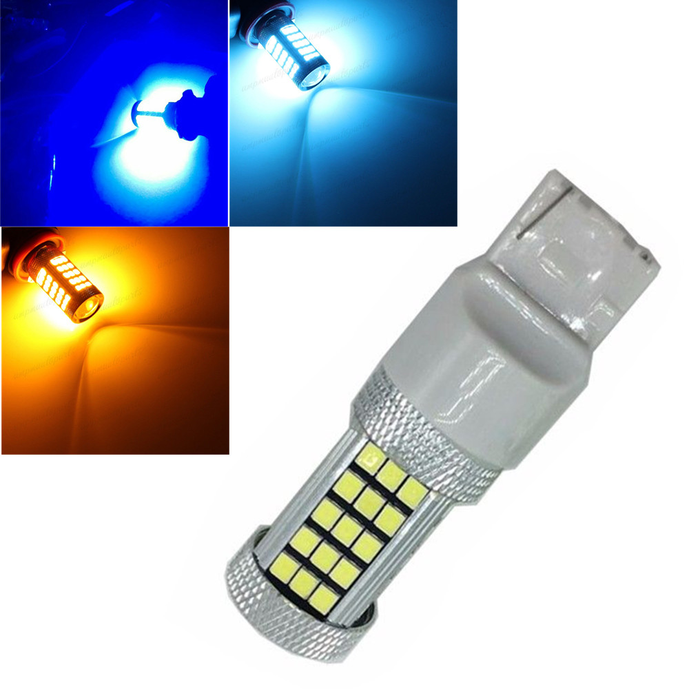 CYAN SOIL BAY T20 W21W 7440 63 smd LED auto brake light car Backup Reverse Rear Indicato ...
