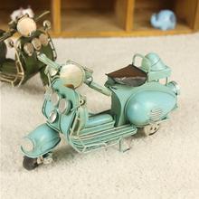 Украшения для дома, фигурки из металла, винтажные классические модели мотоциклов