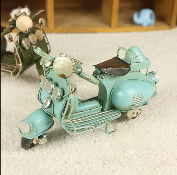 Home Decor Decoration Crafts Figurines iron metal craft  vintage Classic  motorcycle models free shipping model gift motorcycle toy motorcycle 650 -