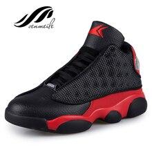 Иордания баскетбола аутентичные zapatillas ходьбы hombre дышащие удобные ботинки ретро обувь