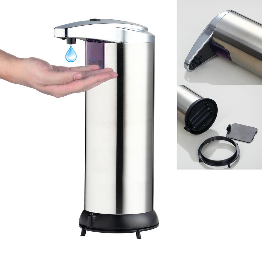 popular style automatic soap dispenser bathroom washroom liquid soap dispenser touchless 250mlchina - Automatic Soap Dispenser