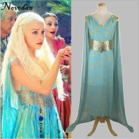 Daenerys Targaryen Game Of Thrones Cospaly Dress A Song Of Ice And Fire Mother Of Dragons