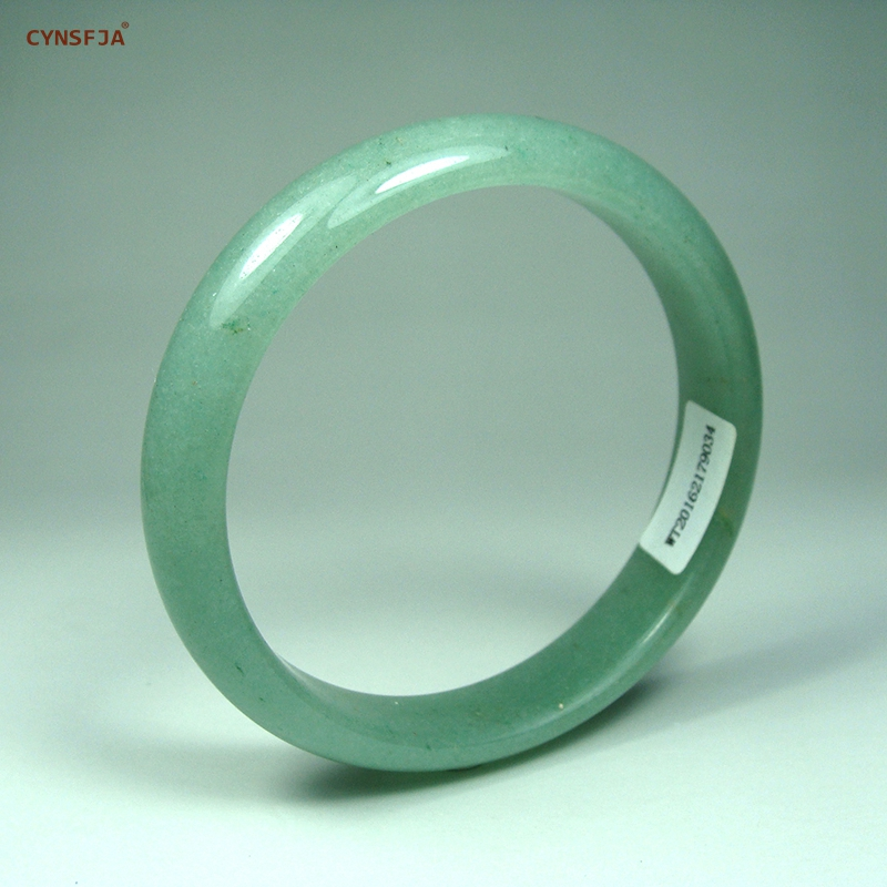 Jade Bangle Bracelets For Women Certified Natural Dongling Jade High Quality Inside 60mm Bangles Wife Mother's Birthday Gifts drop shipping high quality natural green dongling jades bangles bracelets round bangles gift for fashion elegant women jewelry