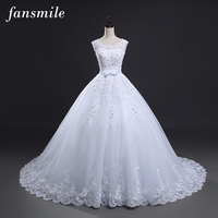 2016 New Shoulder Off White With Red Lace Wedding Dress Long Train Prom Dresses Robe Mariage