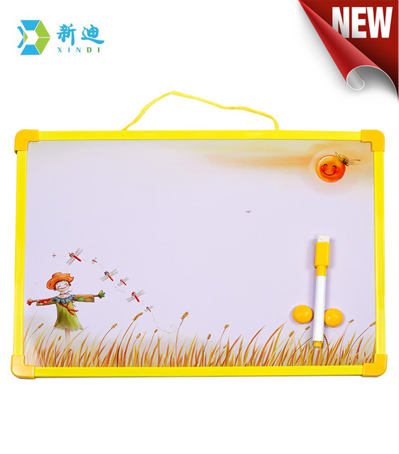 Free Shipping Magnetic Board 35 25cm With Accessories Dry Erase Kids Drawing Factory