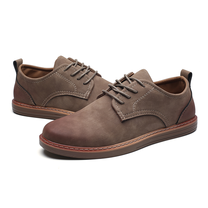 fashion leather casual shoes men comfortable leisure moccasins cheap dress male footwear work elegant boy oxford shoes for m (2)