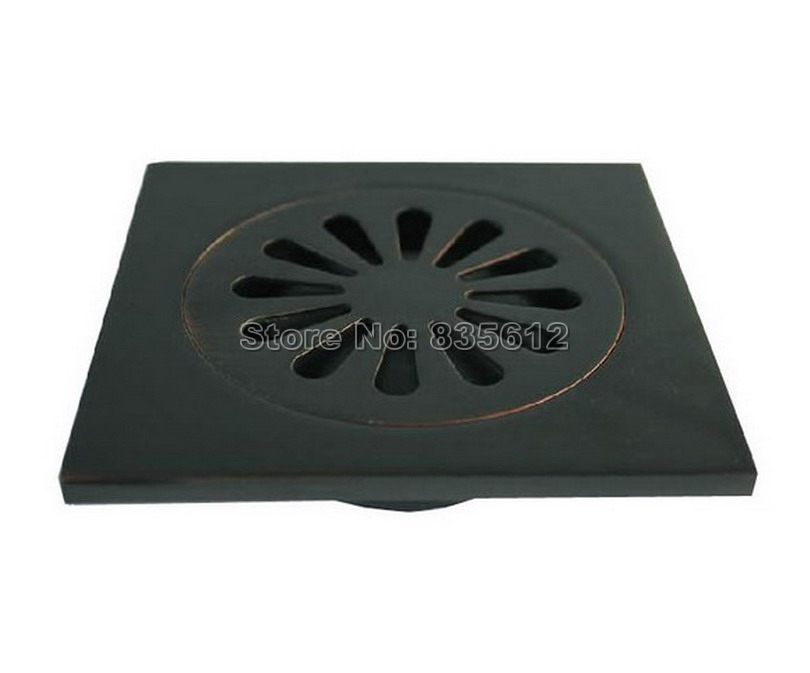 Oil Rubbed Bronze Shower Drain.Us 14 74 41 Off Black Oil Rubbed Bronze Bathroom Waste Floor Drain Shower Drain Grate Whr009 In Drains From Home Improvement On Aliexpress