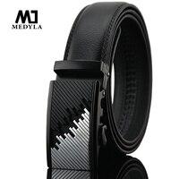 2016 Designer Men Belts Luxury Ceinture Homme Brand Belt Cowhide Belt Automatic Buckle Solid Color With