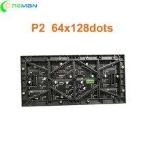 ต่ำราคาโมดูล LED P2 68x128dots P3.81P4.81P3P4P5 กลางแจ้ง LED โมดูล 1080ip หน้าจอ LED โมดูล