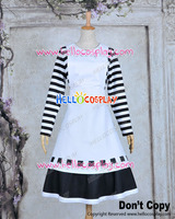 Alice Madness Returns Alice London Black White Dress Cosplay Costume H008