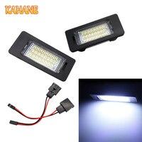 2pcs LED License Plate Light Lamp 18 SMD LED License Plate Light Lamp White Light For